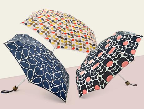 Umbrellas: Orla Kiely & Fulton