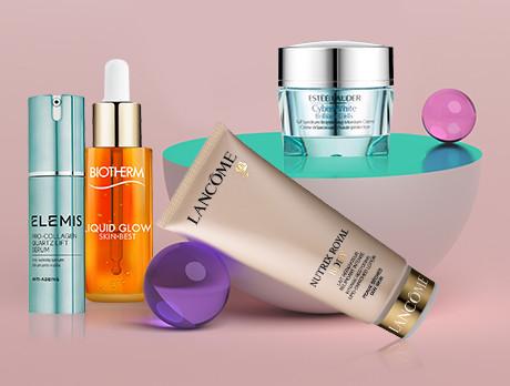 Lancome, Shiseido & more