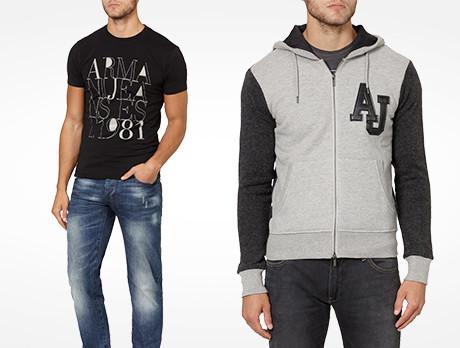 Armani Jeans Menswear
