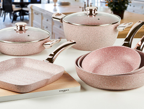 Bisetti Stonerose Cookware