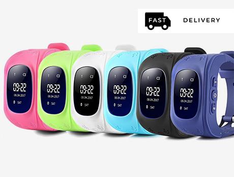 Kequ: Kids' GPS Tracking Watch