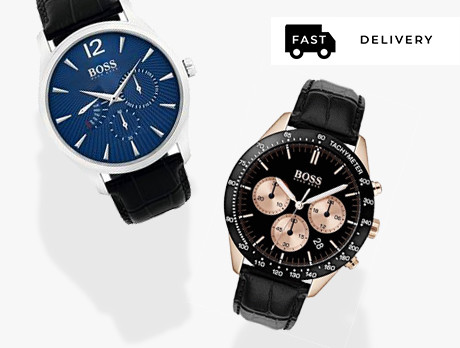 Men's Watches: Boss & more