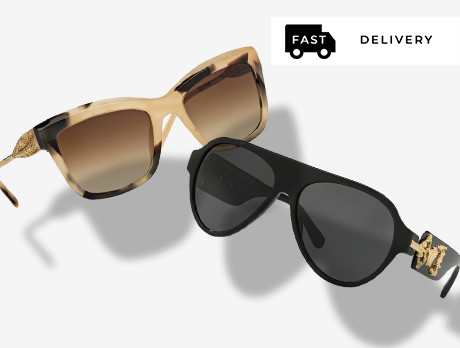 Sunglasses: Versace & more