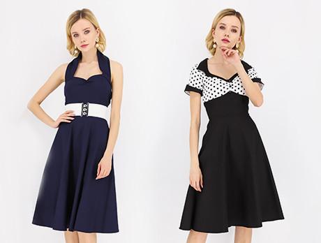 50s-Inspired Dresses
