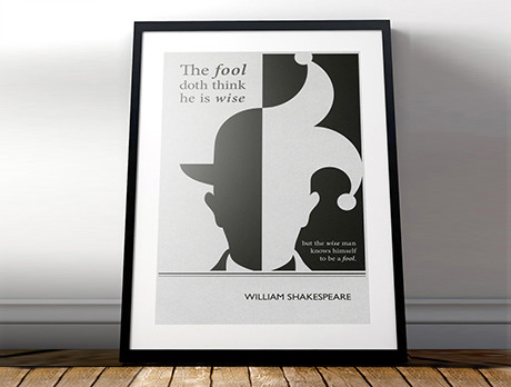 Framed Literary Quotes