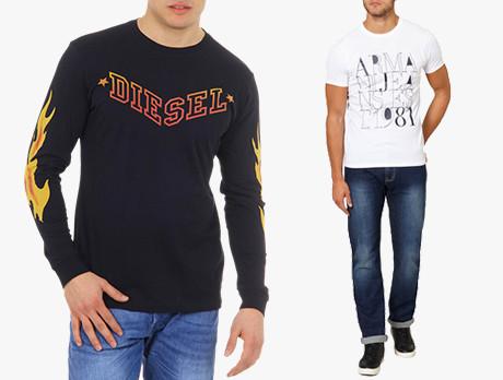 Diesel & Armani Jeans