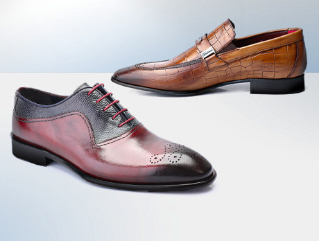 Deckard: Luxe Leather Shoes