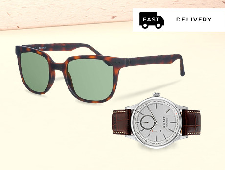 Gant: Sunglasses & Watches