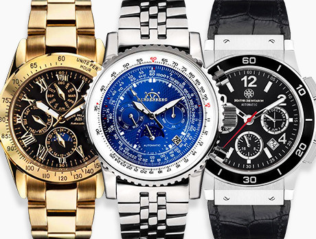 The Watch Cabinet: for Him