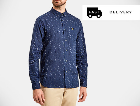 Men's Button-Up Shirts