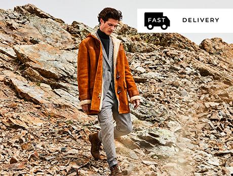 Men's Outerwear: Under £100