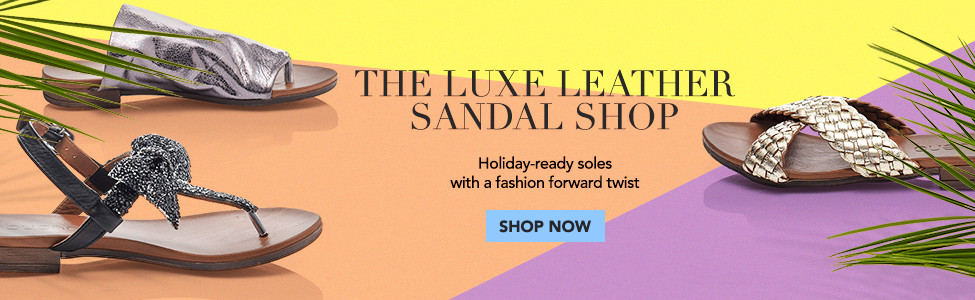 The Luxe Leather Sandal Shop