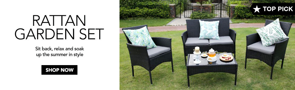 Top Pick: Rattan Garden Set