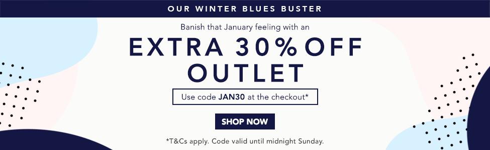 30% Off Outlet - Jan 2018